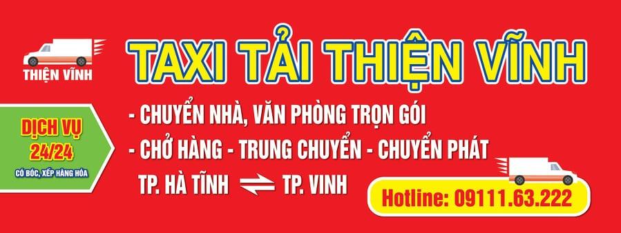 Taxi tải Hà Tĩnh