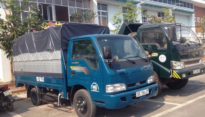Vì sao nên thuê xe tải chở hàng?