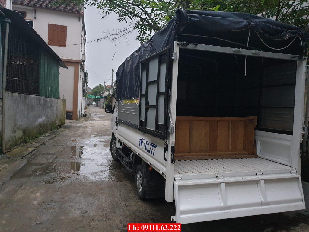 Trung chuyển hàng hóa ở Hà Tĩnh